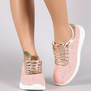 Shoes - Pink Glitz and Glam sneaker